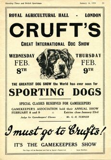 <b>Crufts Posters</b><br>Selection of 1 items