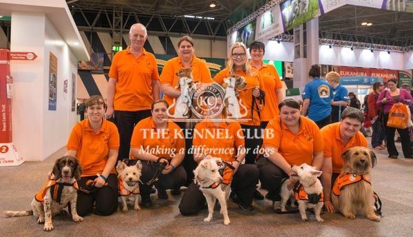 Cheshire Dogs Home team photo