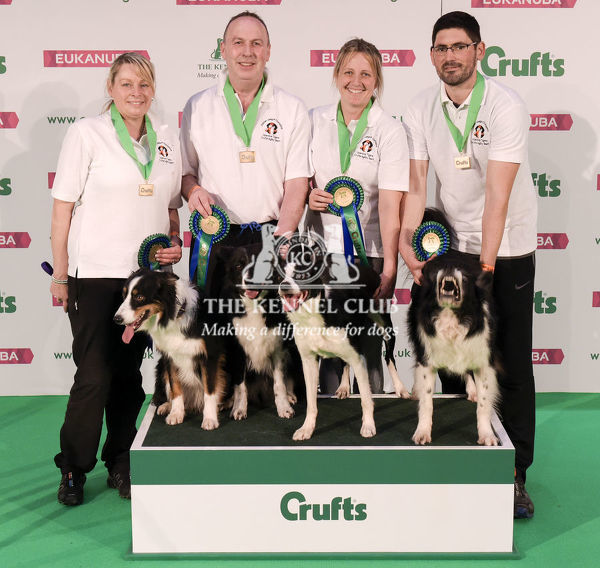 Picture shows Agility Crufts Team, Large Final, (Thursday 07.03.19) the first day of Crufts 2019 at the NEC, Birmingham