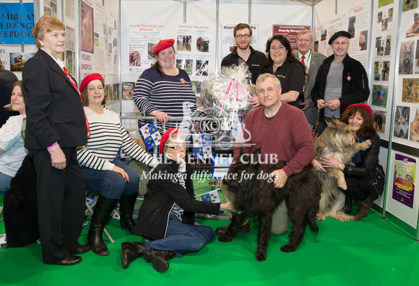 Discover Dogs Best Booth Pastoral Group Awarded To The