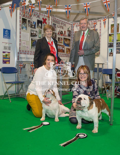 Discover Dogs Best Booth Utility Group Awarded To The