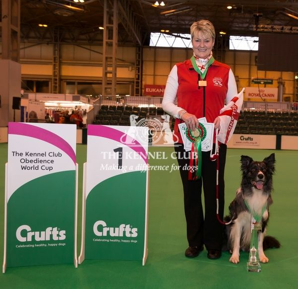 Photo Call Winner of the Obedience individual World Cup