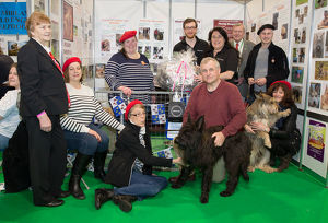 Discover Dogs Best Booth : Pastoral Group awarded to The Picardy Sheepdog