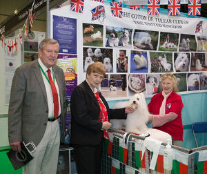 Discover Dogs Best Booth : Toy Dog Group awarded to The Coton De Tulear Club of The